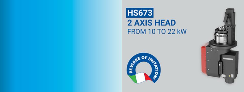 Compatta & Modulare: HS673 TESTA 2 ASSI